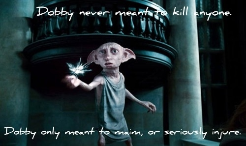 awe, deathly hallows, dobby, harry potter, love dobby, maim - inspiring picture on Favim.com