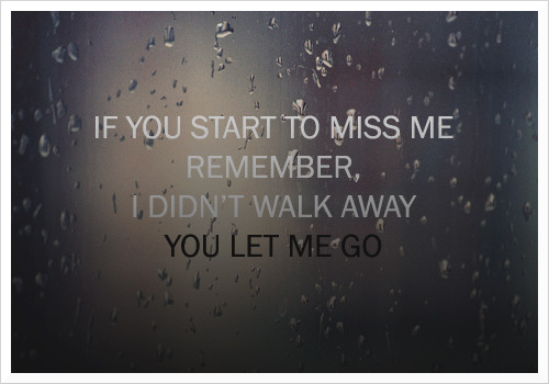 on and letting go Quotes About Moving On And Letting Go Tumblr