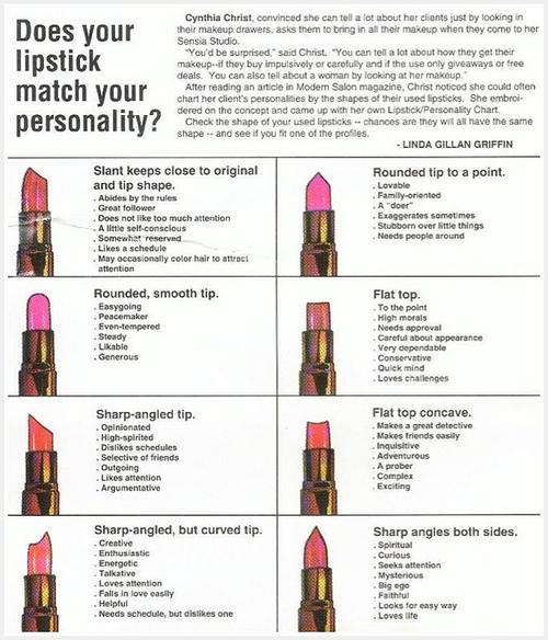 What Is Your Lipstick Outing About You? | Stiletto Woman