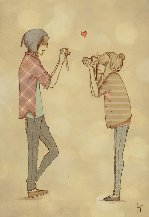 Boy-camera-couple-cute-drawing-girl-favim.com-108640_large