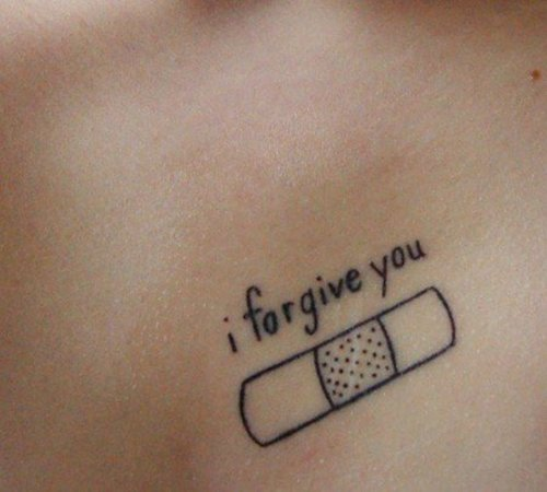 I Forgive You Tattoo Pictures at Checkoutmyink.com