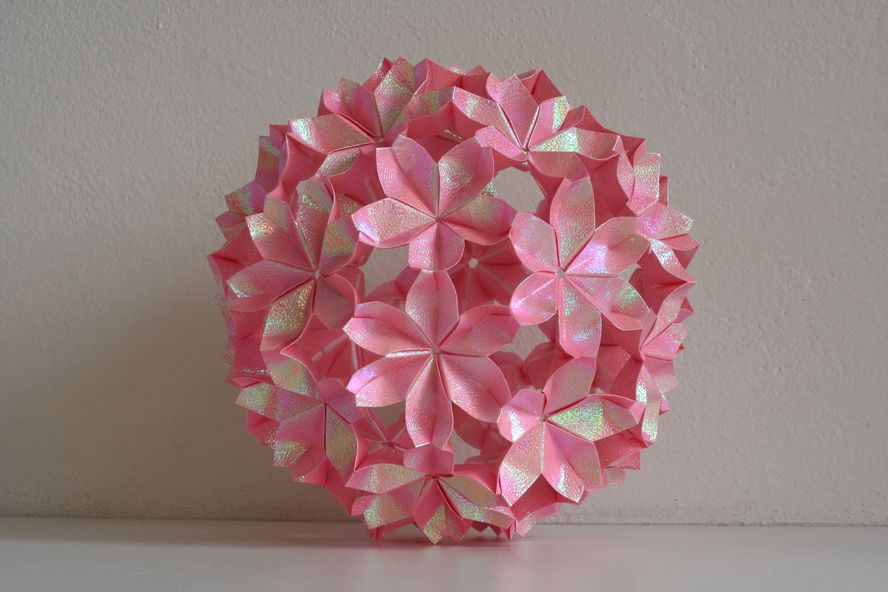 Modular origami passion flower ball best images about d smart on origami flower ball google search we heart it cherry mightylinksfo