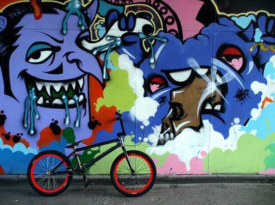 Graffiti Bmx
