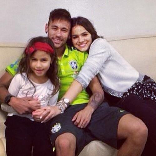 Neymar, Bruna | We Heart It | neymar, bruna marquezine ...Bruna Marquezine And Neymar