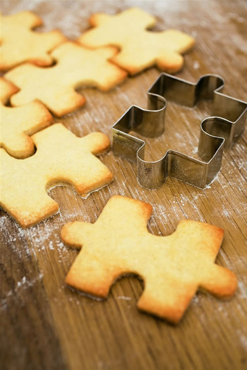 Jigsaw Cookie Cutter — Cox & Cox, the difference between house and home.