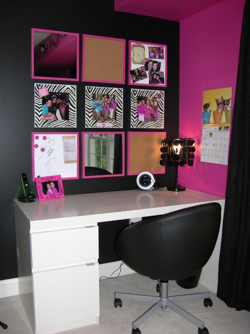Lexie's Hot Pink and Black Zebra Bedroom - Girls' Room Designs ...