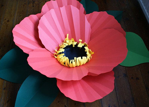 Paper flowers by Brittany   DIY Projects   100 Layer Cake