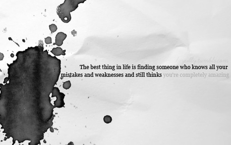 quote,love,still,amazing,completely,mistakes-546b647cec1047e89815e163dd5be2b1_h.jpg (JPEG 画像, 500x313 px) on Zootool