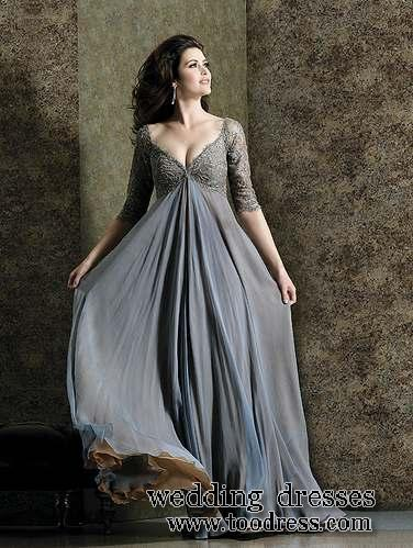 Get Grey Mother Of The Bride Dresses For Plus Size Lady Easily