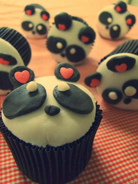 Panda Cupcake   Flickr – Compartilhamento de fotos!