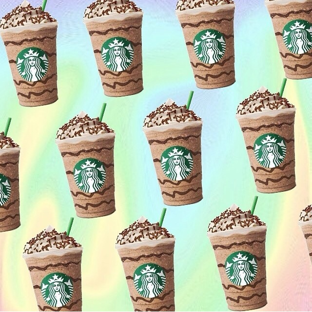Starbucks Pastel Background shared by Obsessed. ♡