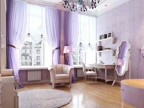 decor, girly, interior, purple, room - inspiring picture on Favim.com