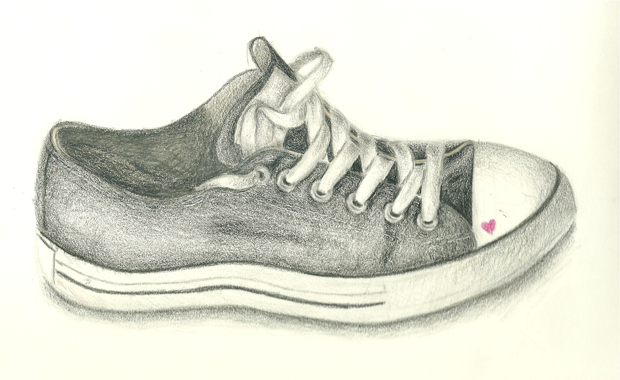 Dress Shoe Drawing