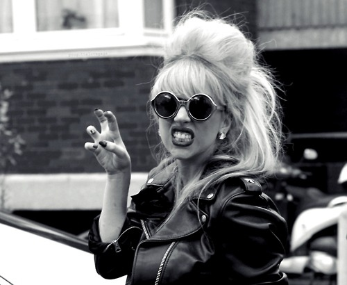 Black-and-white-glasses-hair-lady-gaga-rawr-favim.com-107851_large