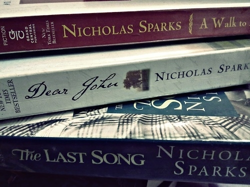 a walk to remember, books, dear john, nicholas sparks, photography, the last song - inspiring picture on Favim.com