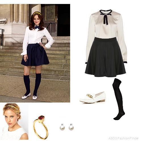 Blair waldorf school fashion - Google Search by Fabulously ...