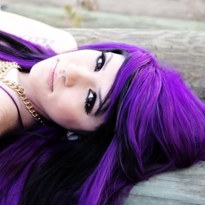 Cool Hair Colorpurple Hair Fashion Hairstyles Pictures
