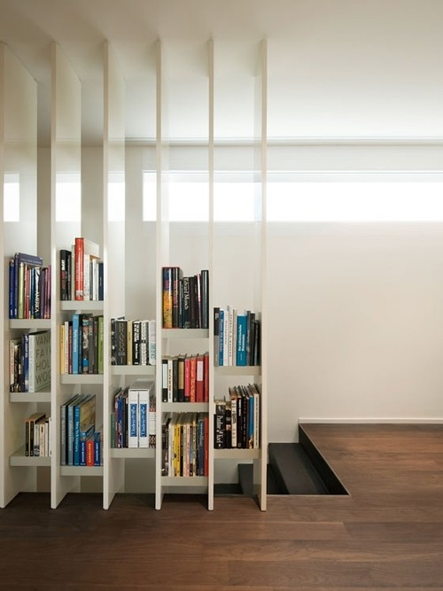 furniture. interesting useful open bookshelf room divider