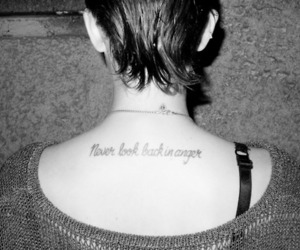 never look back in anger