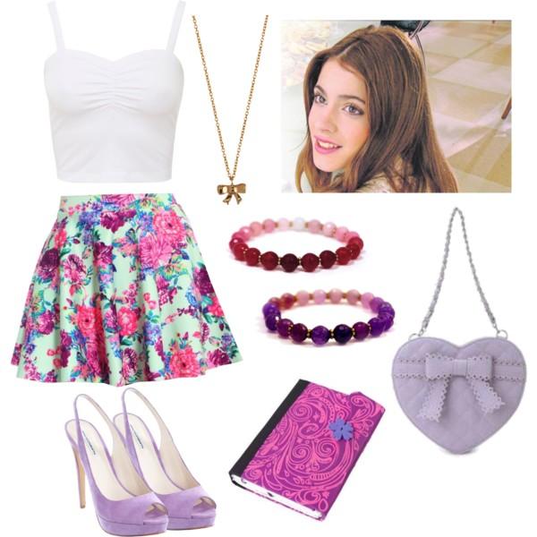 Mode Violetta Cute We Heart It