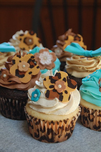 Cupcakes Take The Cake: Hawaiian, princess, goldfish, leopard print and scarecrow cupcakes from J Dot Cupcakes in Bethlehem, Pennsylvania