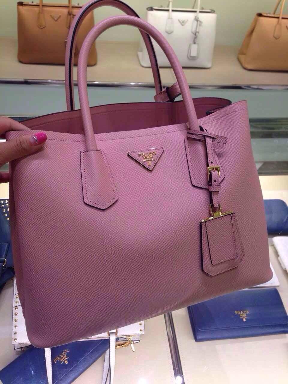 saffiano chain crossbody wallet prada - prada saffiano tote pink, prada red handbag