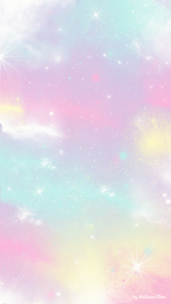 cotton candy sky wallpaper