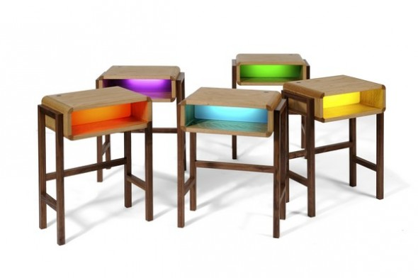 Funky Bedside Tables cool side tables. zamp.co