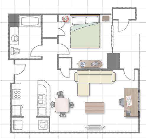 Bachelor pad house floor plans house design plans for House floor plan creator