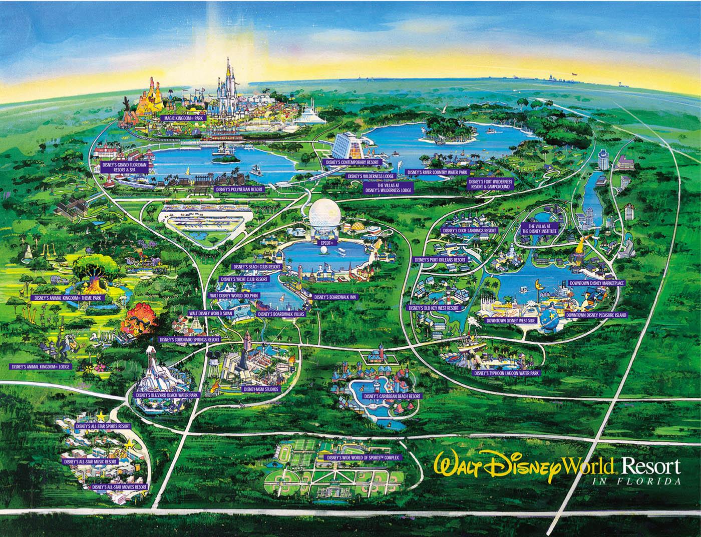 Walt Disney World Resort En Floride Guide Du Tourisme