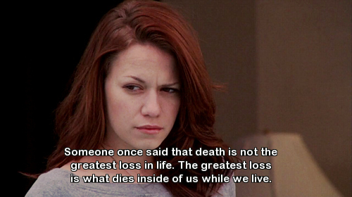 death dies haley james scott live one tree hill quote Favim