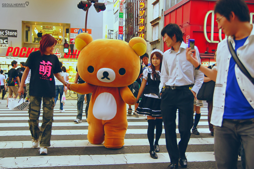 Rilakkuma sightings in Japan