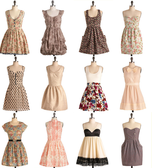 cute, dress, dress vintage, dresses, vintage - inspiring picture ...