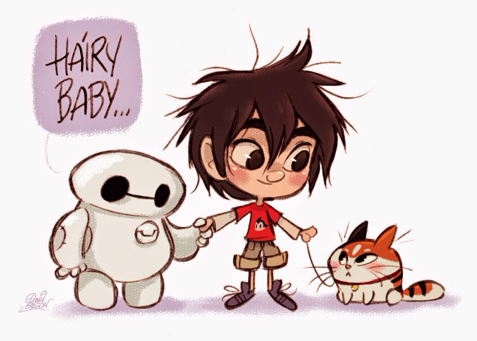 Hiro And Gogo Fanart Hiro Hamada, Baymax, a...