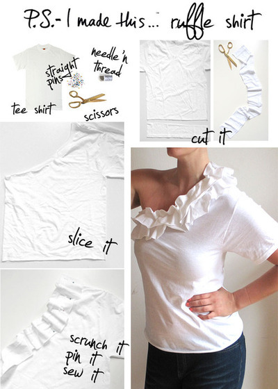 diy fashion (This is a really great idea to make a plain...)
