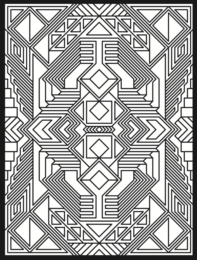 printable trippy coloring pages for adults on we heart it