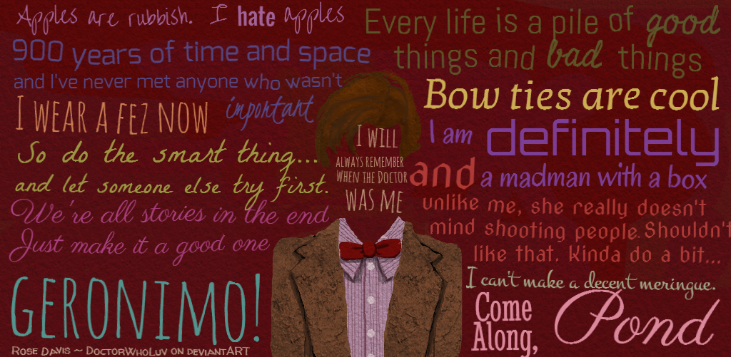 Doctor Who Matt Smith Quotes 11th doctor quotes | W...
