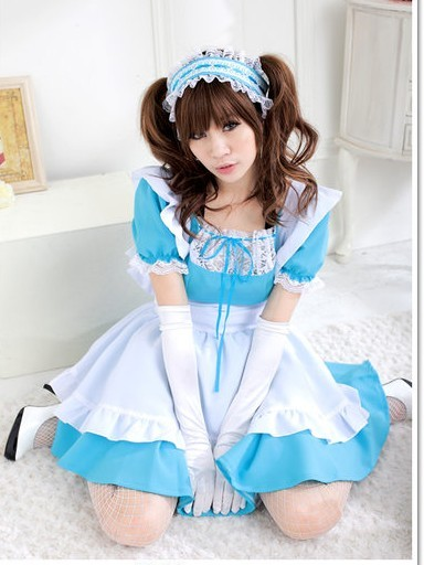 Japan-alice-wonderland-cosplay-blue-lolita-maid-costume-d2906_large