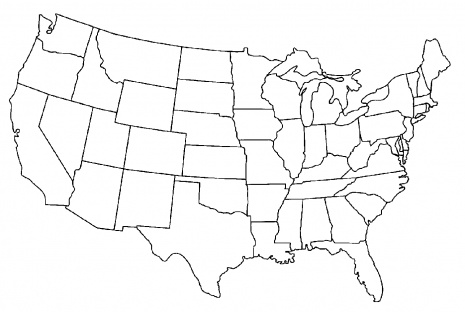 2 Page Us Map