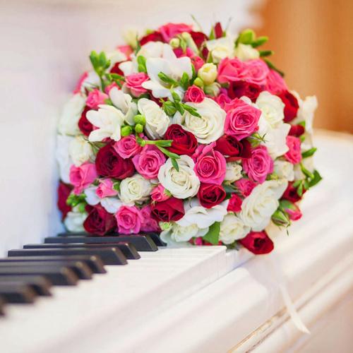 Картинки по запросу музыка и цветы