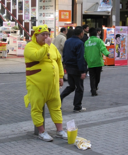Big Fat Pikachu cosplay