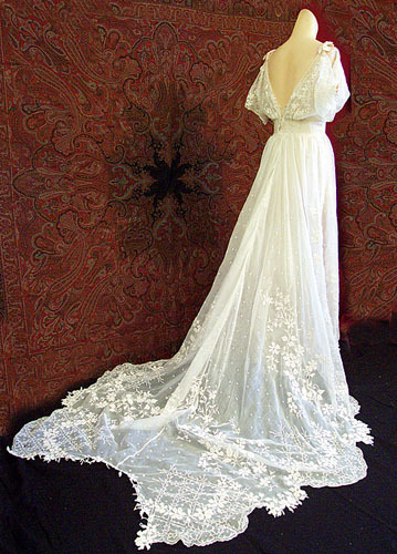Vintage Ivory Wedding Dresses | Cheap Wedding Dresses