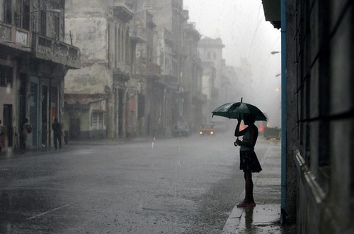 Rain in the standing alone best photo
