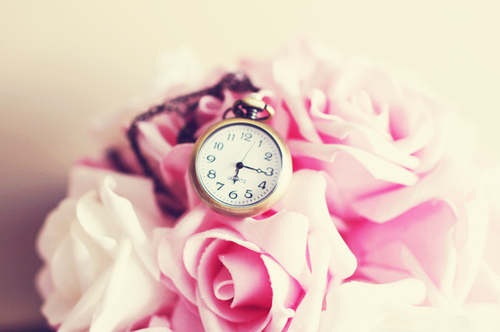 Clock Cute Photography Rose Vintage Inspiring