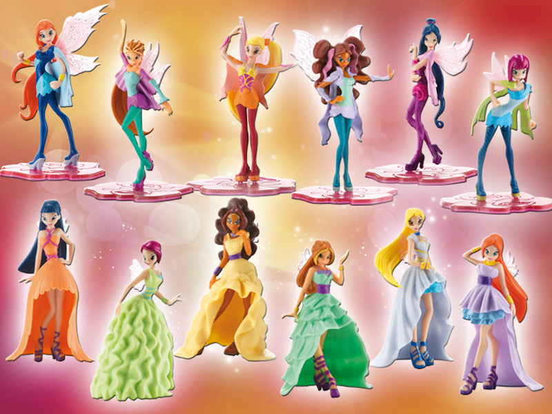 Winx bloomix and magical princess figures we heart it - Winx magic bloomix ...