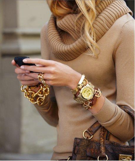 biżuteria, zegarki na bransolecie,złoty zegarek na bransolecie, moda dodatki