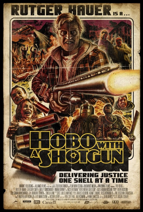 hobo with a shotgun - Google Images