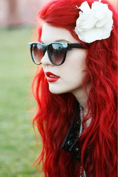 red hair i love!