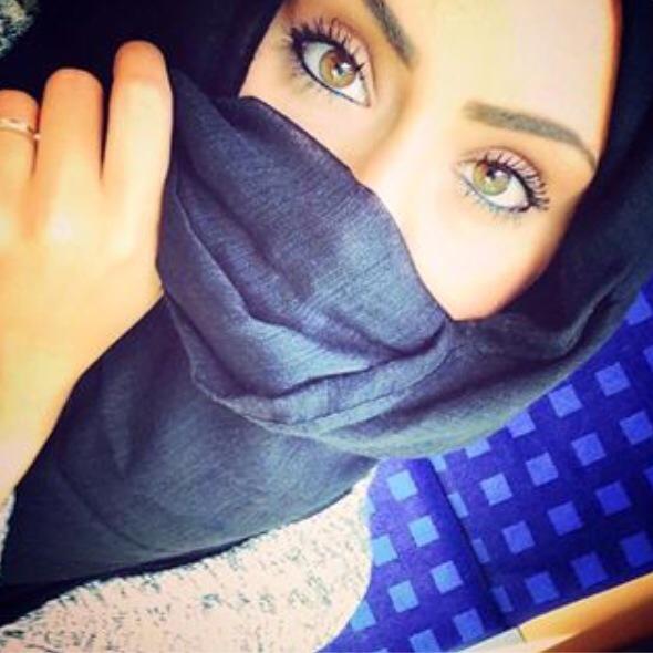 Beautiful muslimah niqab