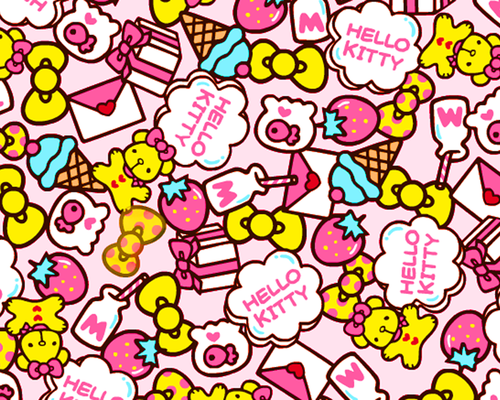 Hello Kitty Wallpaper/Background!! | We Heart It